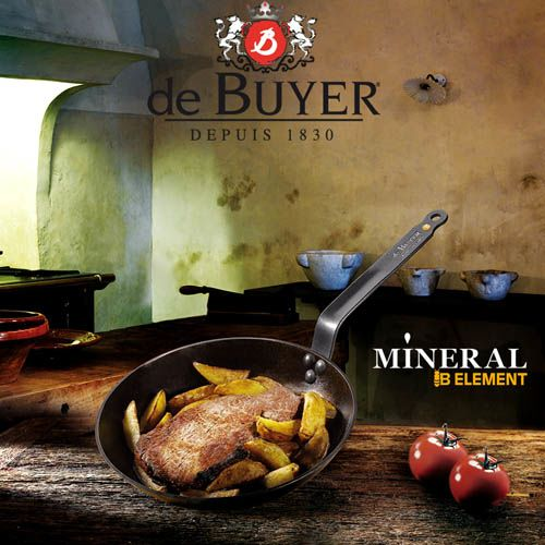 Сковорода De Buyer Mineral B Element 24 см, фото