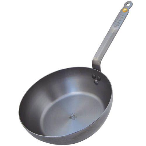Сковорода-сотейник De Buyer Mineral B Element деревенская 24 см, фото