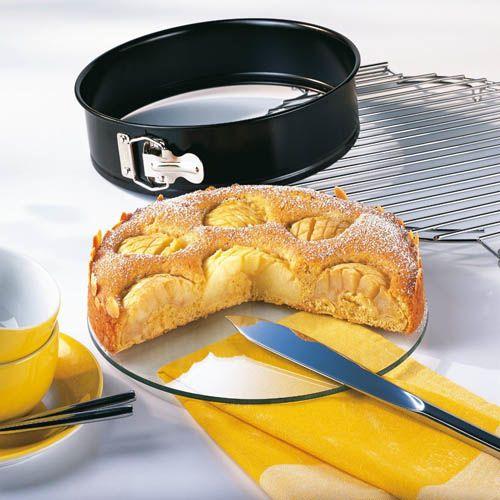 Форма со съемным бортом Kaiser Backform Crystal Baking круглая 26 см со стеклянным дном, фото
