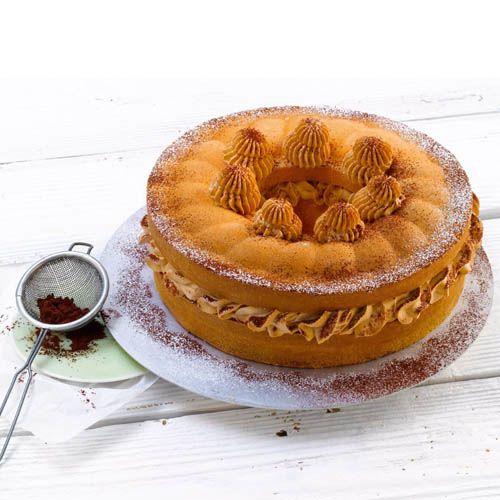 Форма Kaiser Backform Inspiration круглая 28 см со вставкой-сердцевиной для кексов, фото