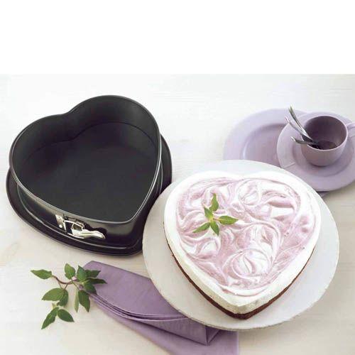Форма-сердце Kaiser Backform Inspiration стальная антипригарная со съемным бортом, фото