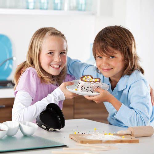 Форма-сердце Kaiser Backform Bake And Play 11 см со съемным дном, фото